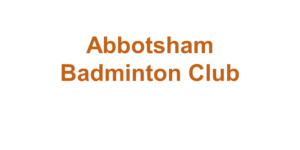 Abbotsham Badminton Club