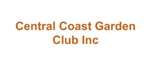 Central Coast Garden Club Inc