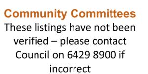 Community Committees
