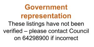 Government representation