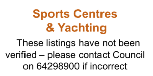 Sports Centres & Yachting