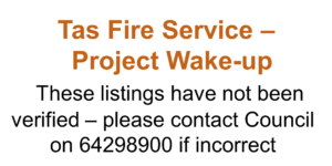 Tas Fire Service – Project Wake-up